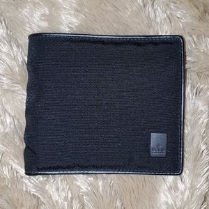 Gucci Nylon Wallet with Leather Trim